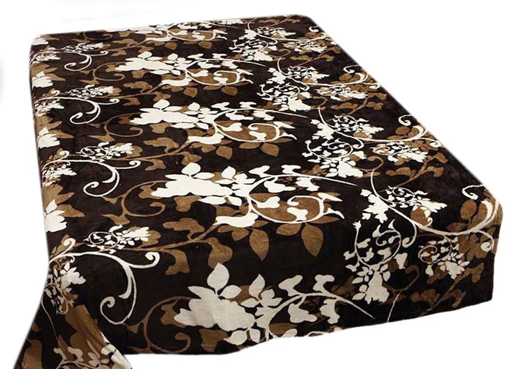 Плед Absolute, цвет: темно-коричневый , 150 х 200 см. 6806968069плотность 300 гр/м2