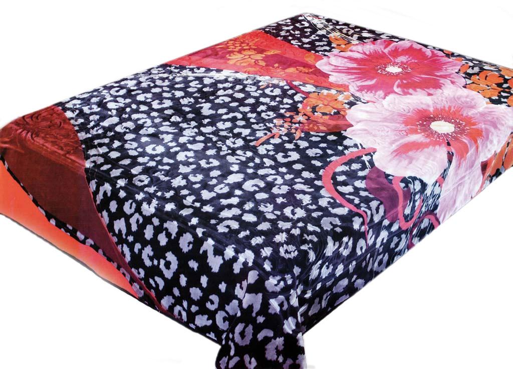 Плед Tamerlan, стриженый, цвет: розовый, синий, 200 х 240 см. 6845868458плотность 625 гр/м2