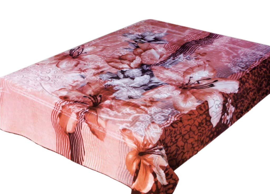 Плед Tamerlan, стриженый, цвет: розовый, 200 х 240 см. 6845968459плотность 625 гр/м2