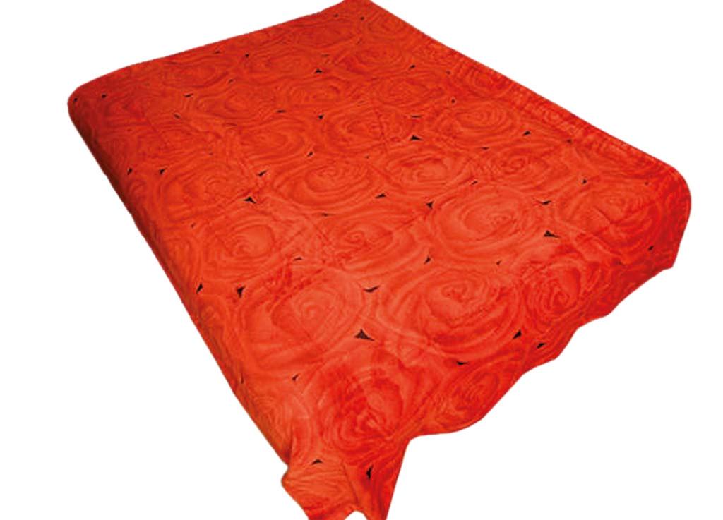Плед Absolute, цвет: красный , 180 х 230 см. 6944669446плотность 290 гр/м2