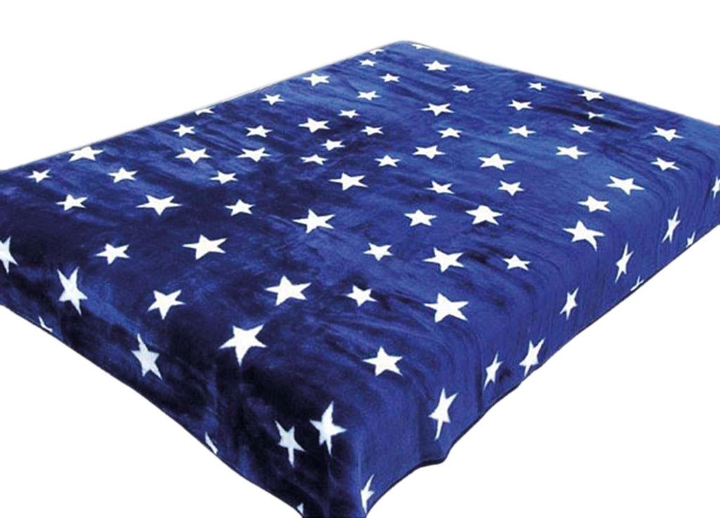 Плед Toledo, нестриженый, цвет: синий, 200 х 240 см. 7597875978плотность 440 гр/м2