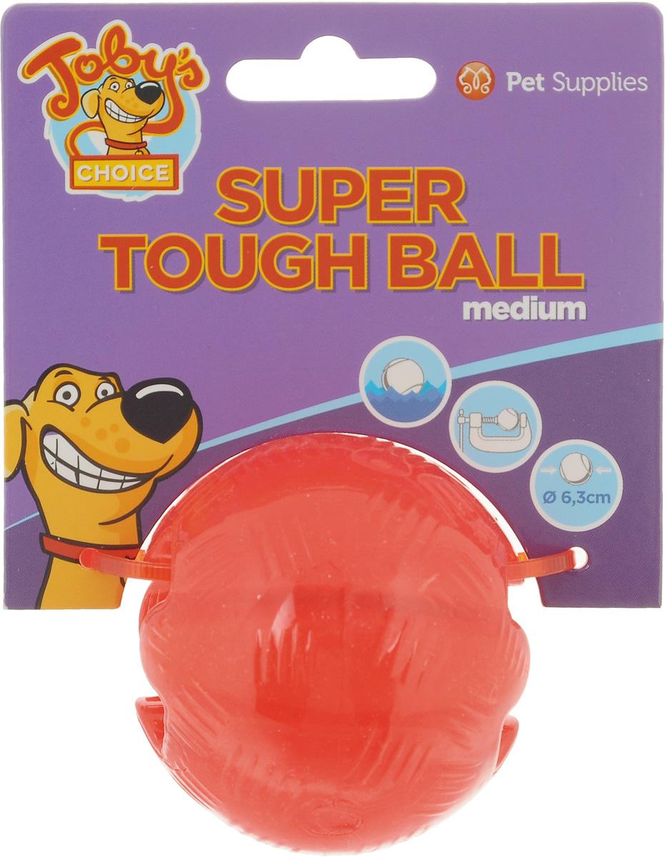 Игрушка для собак Pet Supplies Toby's Choice, цвет: красный, диаметр 6.3 см10739Игрушка для собак Pet Supplies Tobys Choice выполнена из резины в виде мяча. Она надолго займет вашего любимца, избавив его от скуки. Игрушка позволяет равномерно распределить угощение и корм внутри, поэтому лакомства достанутся питомцу не так быстро, и это продлит его игру. Диаметр игрушки: 6,3 см.