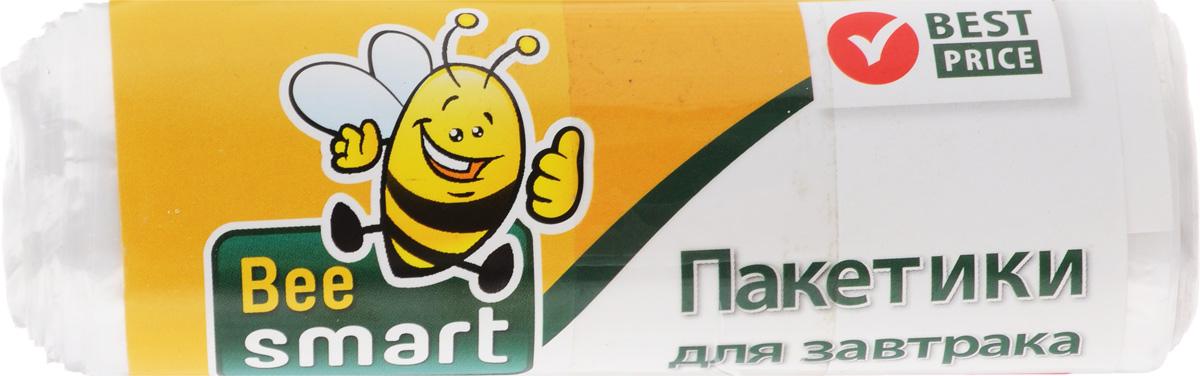 Пакеты для завтрака Beesmart, 20 х 30 см, 50 шт404060/404026Пакеты Beesmart прекрасно сохраняют свежесть и естественный аромат продуктов, жиро- и водонепроницаемы, экономичны и абсолютно безвредны. Идеально подходят для хранения завтраков на работе, в школе или поездке. Просты в использовании. Размер пакета: 20 х 30 см.