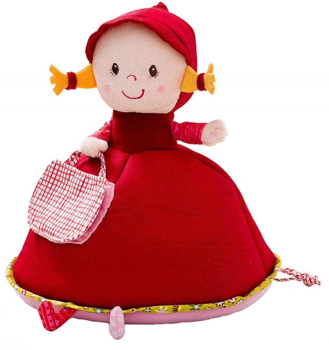 Lilliputiens Копилка музыкальная Красная Шапочка86605Музыкальная копилка Lilliputiens Красная Шапочка станет не только полезным аксессуаром, который научит ребенка беречь денежки, но и чудесным украшением детской комнаты! Она надежно сохранит монетки в своей сумочке! Когда монетка опускается в отверстие, начинает звучать мелодия: Dont Worry, Be Happy. Работает от 2 батареек типа LR44 (замене не подлежат). Игрушка изготовлена из прочных и безопасных материалов.