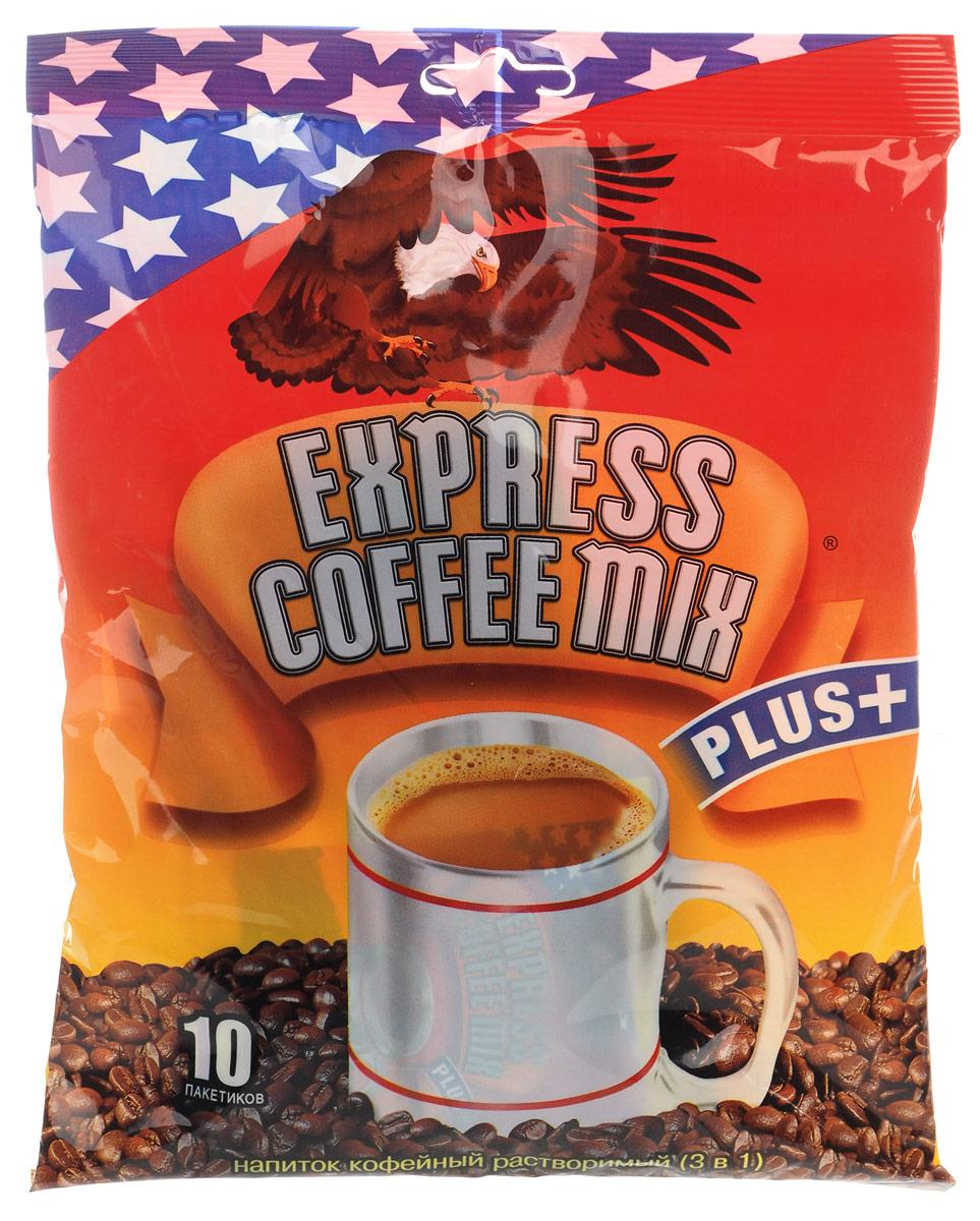 Express Coffee Mix Plus кофейный напиток 3 в 1, 10 шт8886300020076Express Coffee Mix Plus - быстрорастворимый кофейный напиток 3 в 1 (кофе, сахар, сливки) достойного качества по доступной цене.