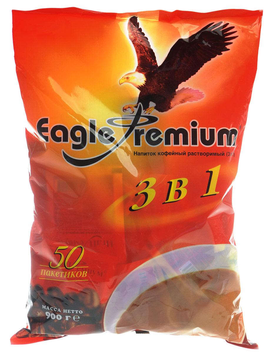 Eagle Premium кофейный напиток 3 в 1, 50 шт
