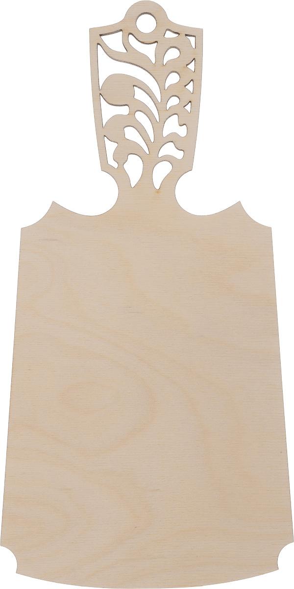 Заготовка деревянная Астра Разделочная доска, 27,5 х 14 см554003Заготовка Астра Разделочная доска изготовлена из самого легкого материала для работы - дерева. В ней прекрасно сочетаются пластичность форм, линий и художественная выразительность. Благодаря таким качествам заготовки, вы можете реализовать свои самые смелые творческие фантазии: оформить ее в технике декупаж, расписать красками, украсить мозаикой, пайетками, лентами или бисером.