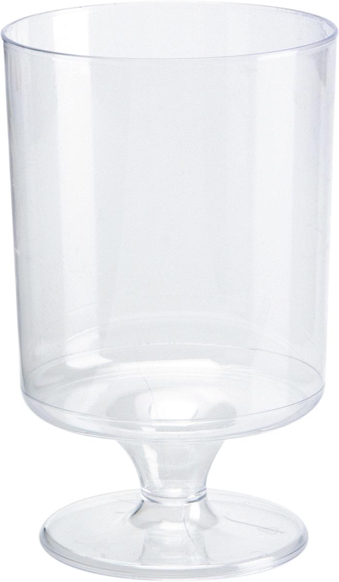 Набор пластиковых бокалов для вина Duni Chateau, цвет: прозрачный, 170 мл, 12 шт164379Набор Duni Chateau состоит из 12 бокалов, выполненных из высококачественного пластика и предназначенных для одноразового использования. Такие бокалы идеально подойдут для подачи вина, а также для других холодных напитков. Одноразовые бокалы будут незаменимы при поездках на природу, пикниках и других мероприятиях. Бокалы не займут много места и самое главное - после использования их не надо мыть. Диаметр бокала (по верхнему краю): 5,7 см. Высота бокала: 9,4 см.