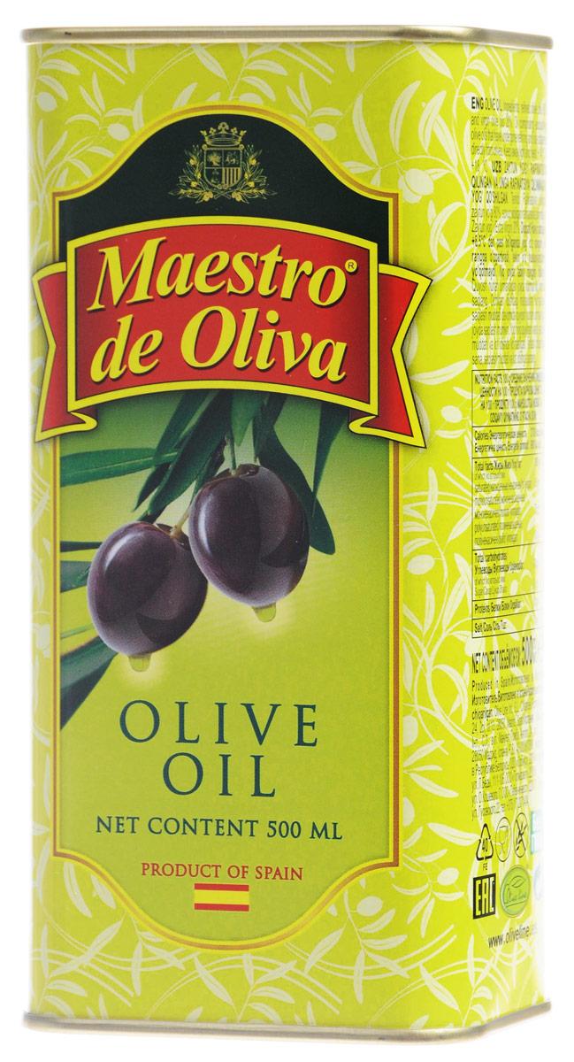 Maestro de Oliva масло оливковое, 0,5 л