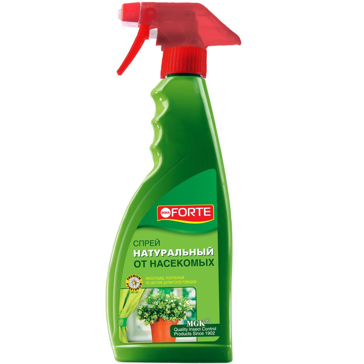 Натуральное инсектицидное средство Bona Forte, спрей, 500 млBF-26-02-001-1Для моментального уничтожения летающих насекомых-вредителей. Не вызывает привыкания у насекомых. Безопасная обработка - после воздействия натурального пиретрума на насекомых, действующие вещества быстро разлагаются до экологически безопасных остатков, не причиняя ущерб человеку и окружающей среде.