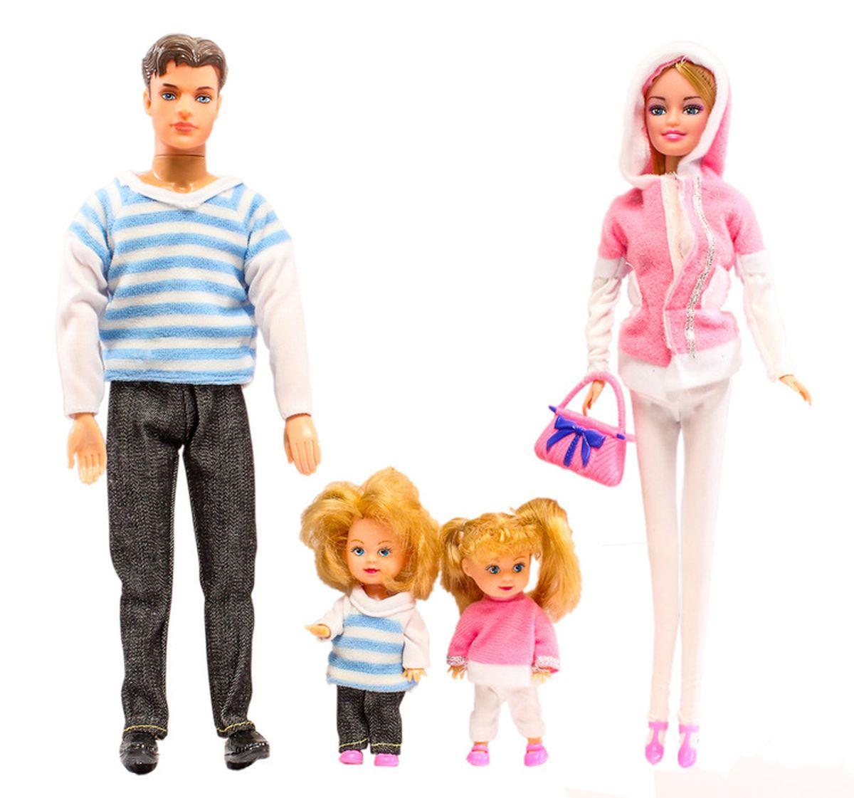 Win Goal Кукла Семья11083Каждая девочка мечтает поскорее вырасти, поэтому набор кукол Моя Семья необходим среди ее игрушек.