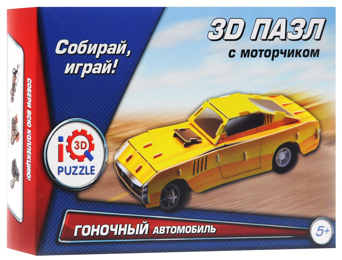 Iq3DPuzzle 3D пазл Гоночный автомобиль цвет желтый ( FT20014 )