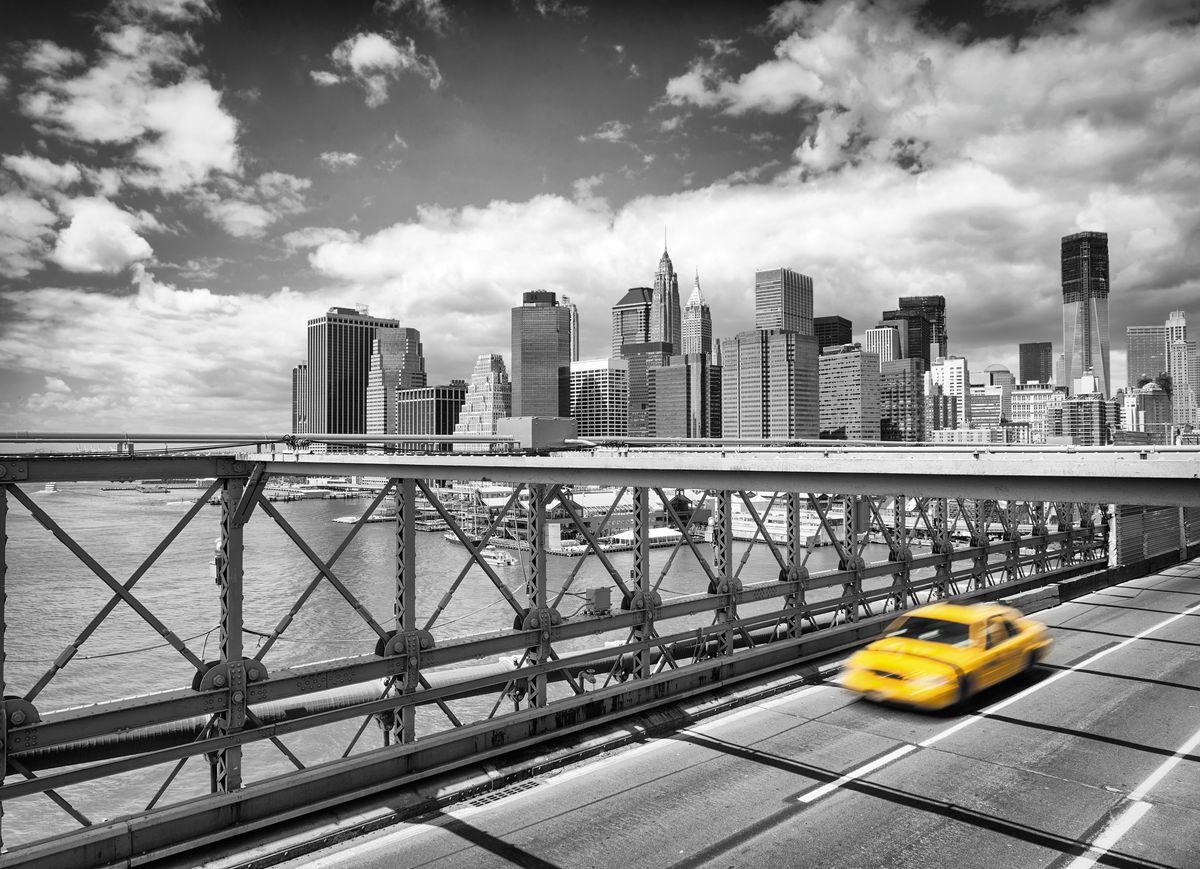 Фотообои Komar Такси в Бруклин, 2,54 х 1,84 м4-929Бумажные фотообои известного бренда Komar позволят создать неповторимый облик помещения, в котором они размещены. Фотообои наносятся на стены тем же способом, что и обычные обои. Благодаря превосходной печати и высококачественной основе такие обои будут радовать вас долгое время. Фотообои снова вошли в нашу жизнь, став модным направлением декорирования интерьера. Выбрав правильную фактуру и сюжет изображения можно добиться невероятного эффекта живого присутствия. Ширина рулона: 2,54 м. Высота полотна: 1,84 м. Клей в комплекте.