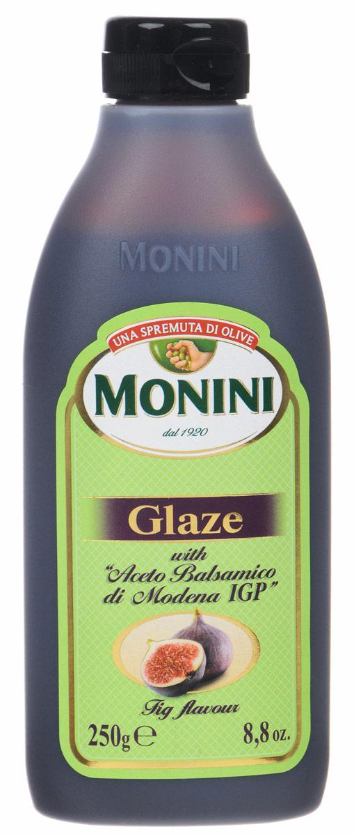 Monini Balsamic Glaze бальзамический соус со вкусом инжира, 250 г 1612215