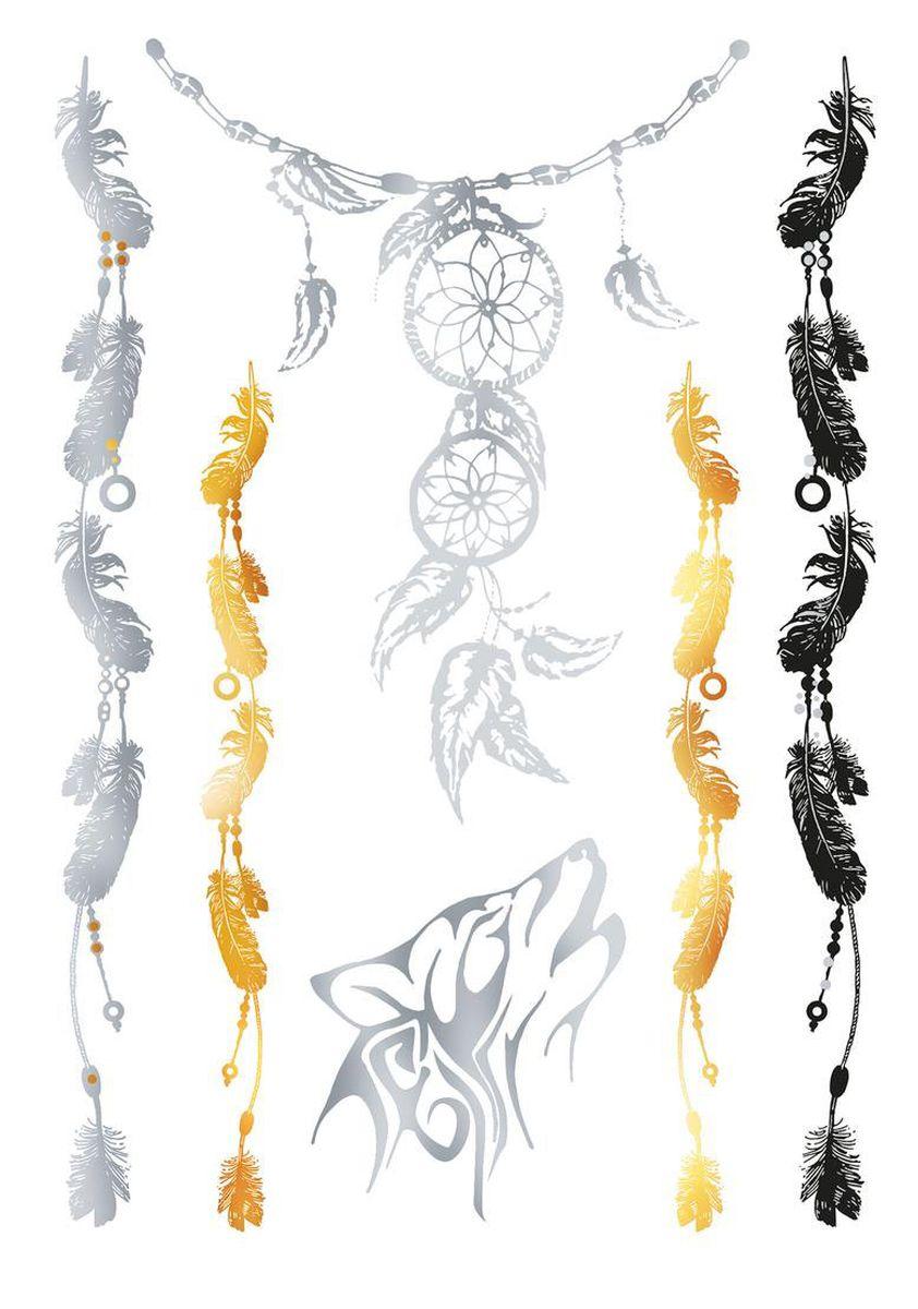 Herma Наклейки для тела Flash Tattoo Ловец снов15180Флэш-татуировки – это временные татуировки напоминающие ювелирные украшения. Преимущества флэш-тату очевидны: Во-первых, они временные, это очень важно для тех, кто не хочет перманентное тату. Во-вторых, нанести на свое тело тату очень просто, принцип схож с «наклейками-переводилками». В-третьих, они нетоксичны - экологичны и безопасны для кожи и здоровья. Татуировки обладают высокой водостойкостью и держатся более недели. Любители украшать тело найдут себе рисунок под любое настроение. Самый распространенный вариант татуировки – металлическая цепь или браслет. Есть варианты татуировок под Boho-стиль и гламурные рисунки, надписи и геометрические фигуры. Металлик может иметь как золотой, так и серебряный оттенок. Имитация ювелирного украшения особенно привлекательно смотрится на загорелом теле. Размер листа, на котором располагается флэш-тату - 234 х 136 мм. НАНЕСЕНИЕ И УХОД Нанесение: 1. Предварительно очистить кожу, кожа должна быть сухая, без каких-либо кремов и масел. 2. Вырезать...