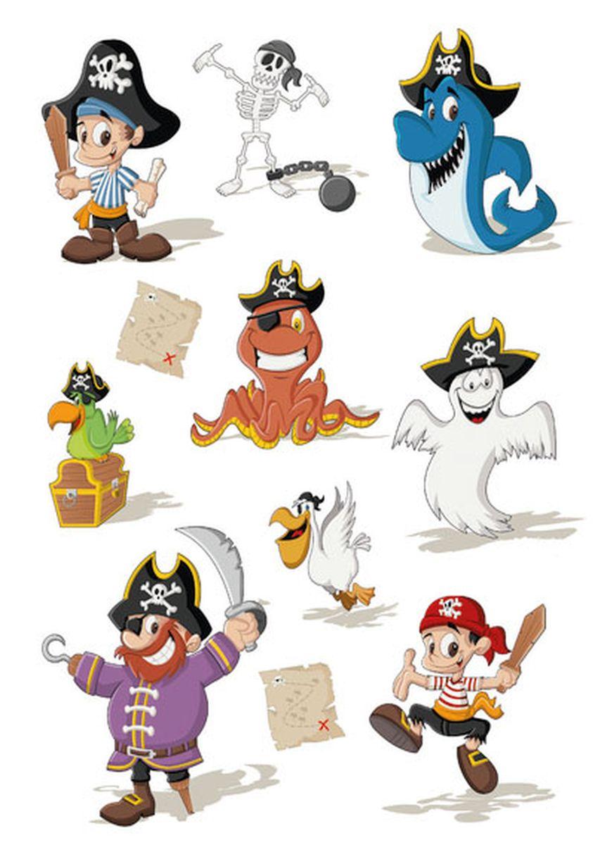 Herma Наклейки Magic Приключения пирата
