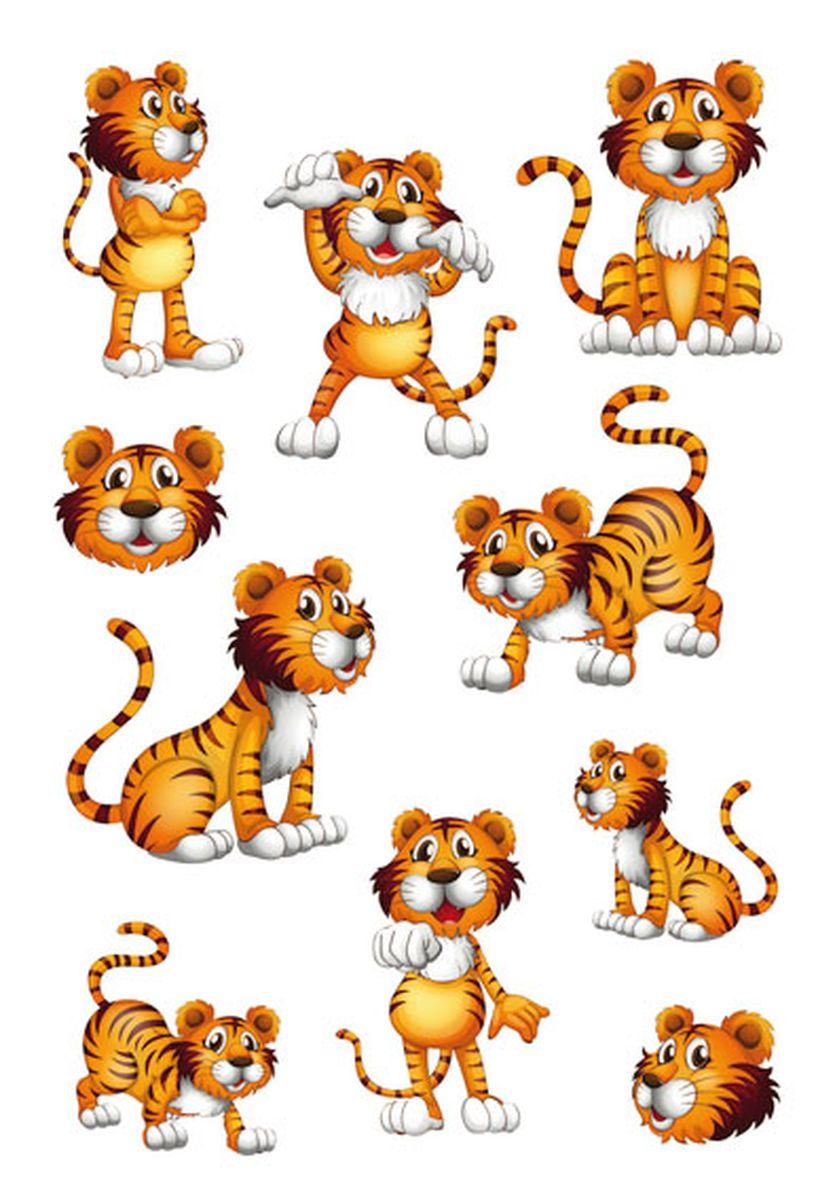 Herma Наклейки Magic Тигруша