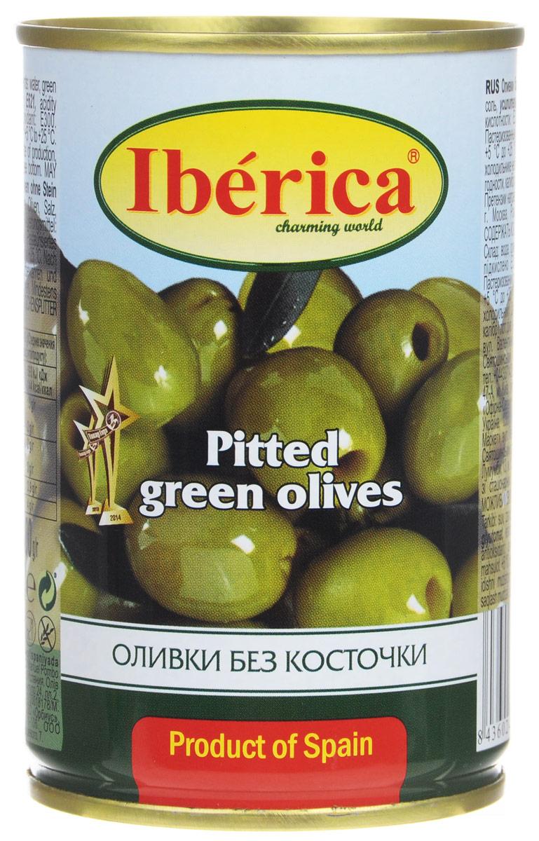 Iberica оливки без косточки, 300 г0710104Превосходные оливки Iberica без косточки. Оливки и маслины Iberica - давно знакомый потребителям бренд, один из лидеров в данной категории продуктов.