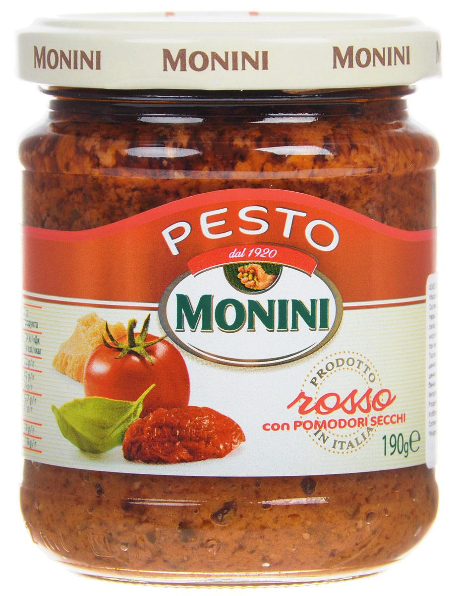 Monini Pesto Rosso соус песто томатный, 190 г
