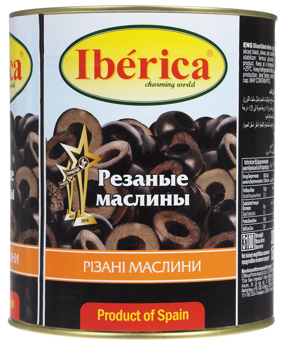 Iberica маслины резаные, 3 кг0710081Превосходные резаные маслины Iberica. Оливки и маслины Iberica - давно знакомый потребителям бренд, один из лидеров в данной категории продуктов.