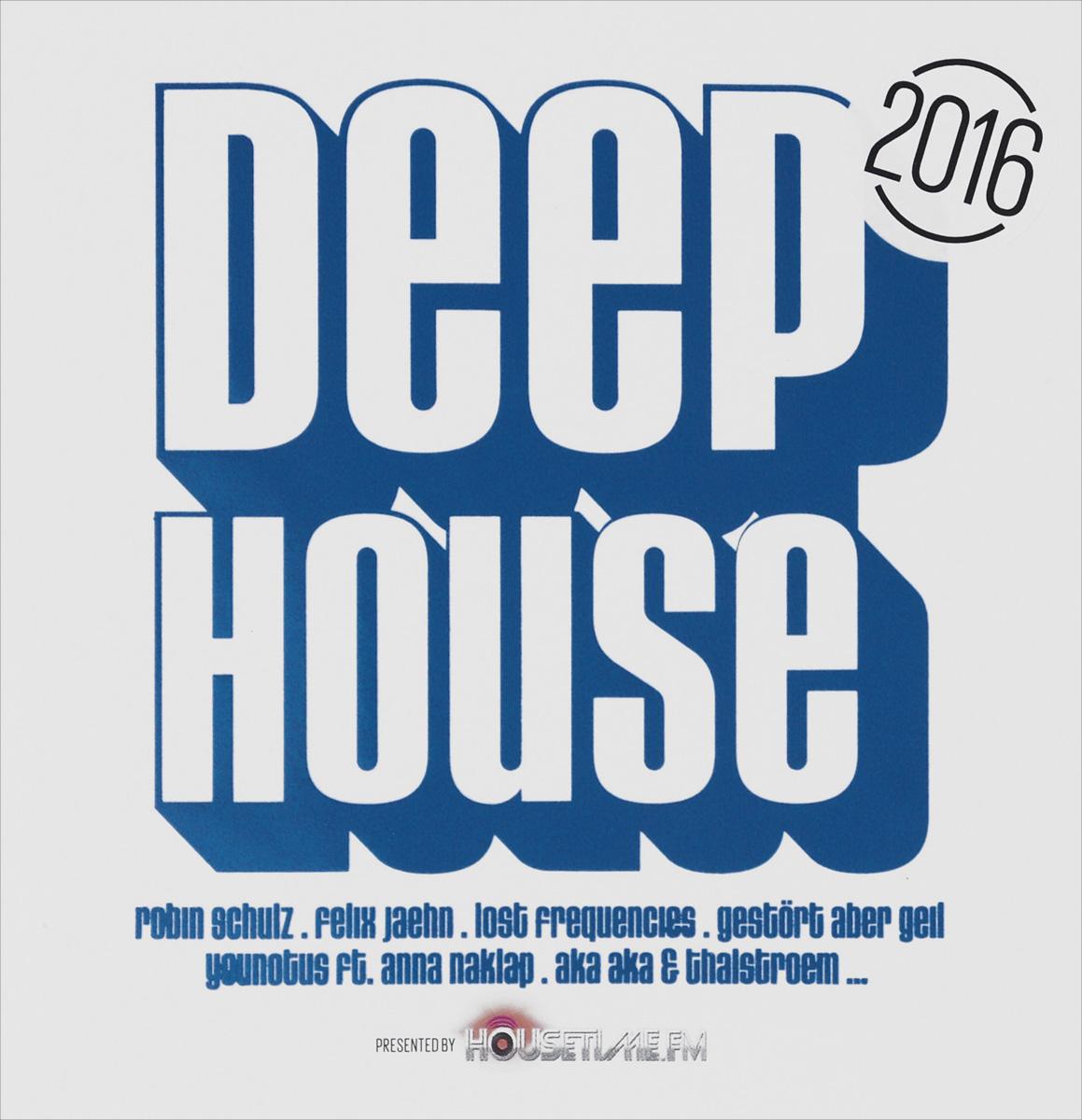 Deep House 2016 (2 CD) 2 Audio CD