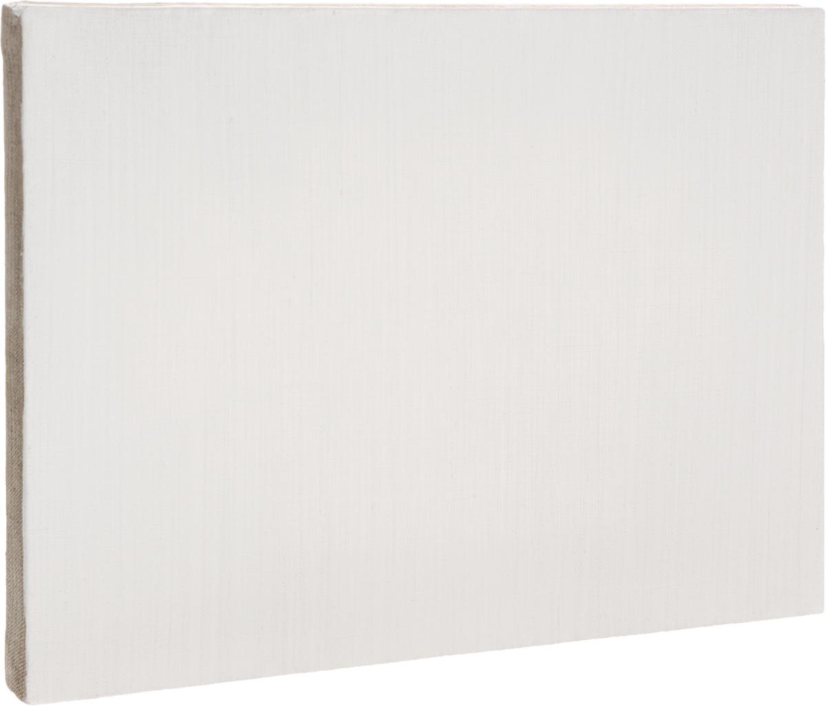 Холст ArtQuaDram Мелкозернистый на подрамнике, грунтованный, 25 х 35 смТ0003822Холст на деревянном подрамнике ArtQuaDram Мелкозернистый изготовлен из 100% натурального льна. Подходит для профессионалов и художников. Холст не трескается, не впитывает слишком много краски, цвет краски и качество не изменяются. Холст идеально подходит для масляной и акриловой живописи.
