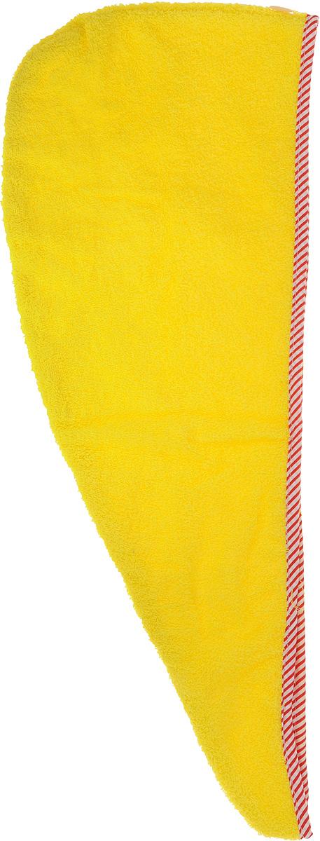 Чалма для бани и сауны Доктор Баня, цвет: желтый905002_желтыйЧалма для бани и сауны Доктор Баня, изготовленная из 100% хлопка, станет незаменимым аксессуаром для любителей попариться в русской бане и для тех, кто предпочитает сухой жар финской бани. Кроме того, чалма защитит волосы от сухости и ломкости, голову от перегрева и предотвратит появление головокружения. Такая чалма станет отличным подарком для любителей отдыха в бане или сауне. Длина: 60 см.