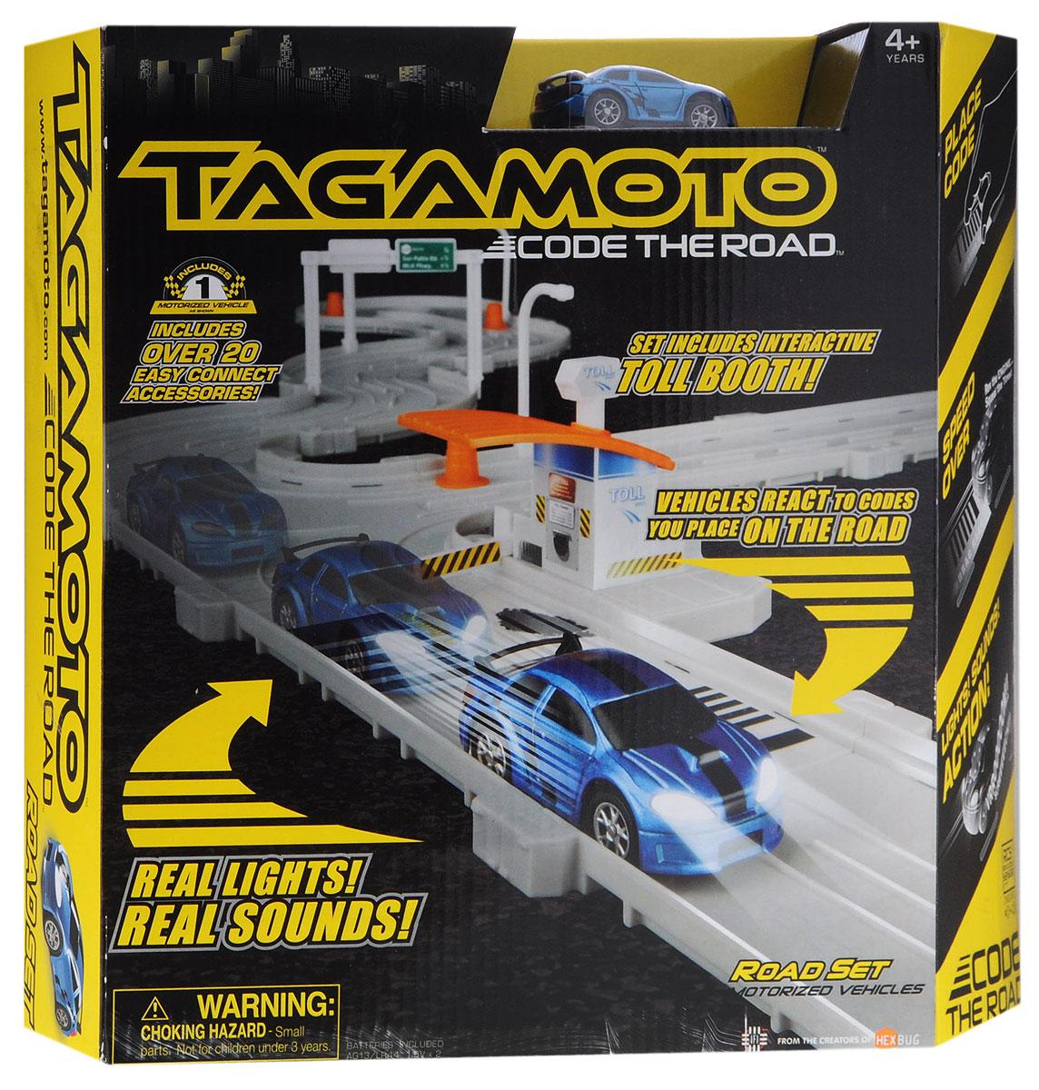Hexbug Игрушечный трек Тагамото цвет машинки синий