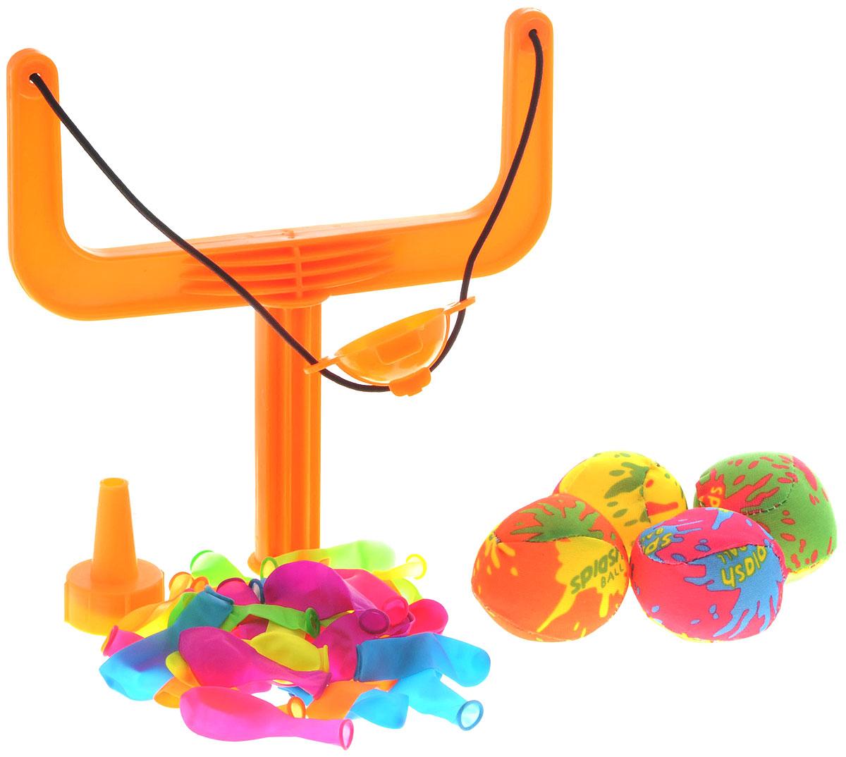YG Sport Игровой набор Водяные бомбочкиYG16YИгровой набор YG Sport Водяные бомбочки станет любимым развлечением детишек на природе, а для быстрого наполнения и метания чудо-бомбочек в комплекте предусмотрены аксессуары. Подготовить чудо-бомбочку довольно просто: наполнить шарик водой, используя воронку, завязать и выстрелить из рогатки в выбранную мишень. С помощью этого игрового набора можно разнообразить пляжный отдых или же освежиться, играя на даче или пикнике. Новое игровое приобретение настроит деток на положительный эмоциональный фон и благоприятно воздействует на развитие меткости и ловкости. Все элементы набора выполнены из качественных и гипоаллергенных материалов, абсолютно безопасных для детской игры.