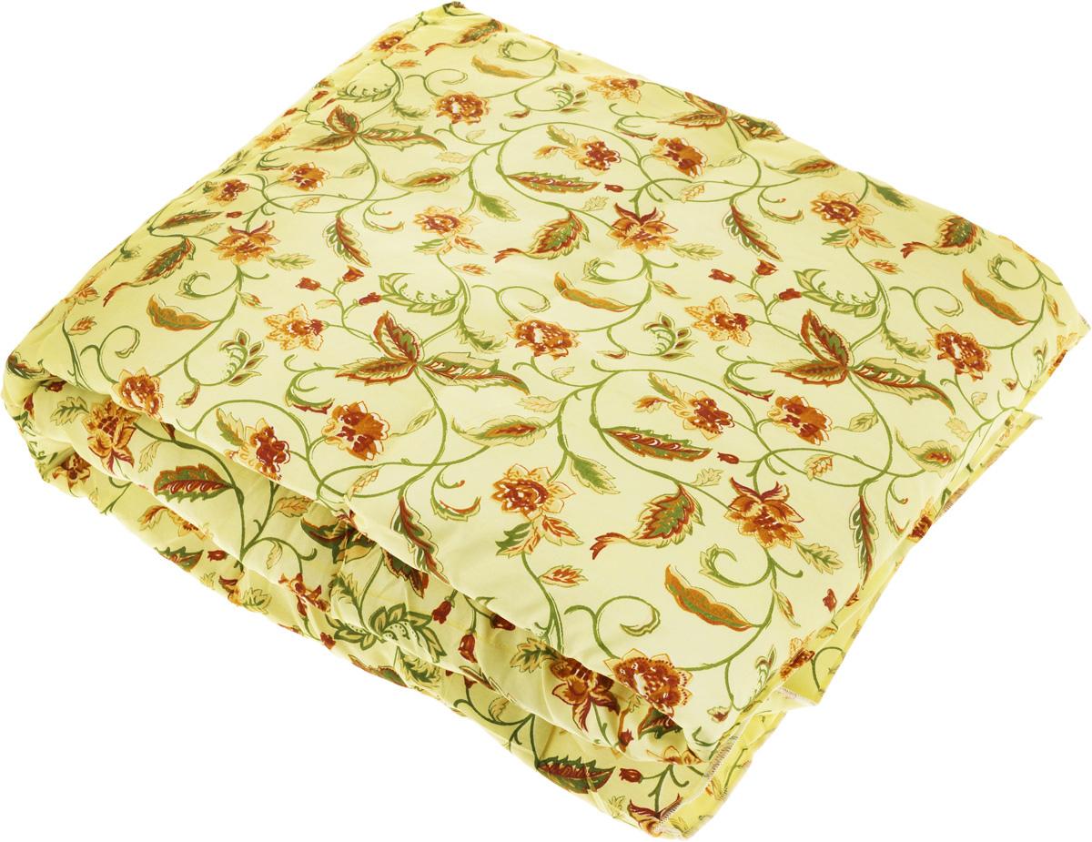 Одеяло легкое Sleeper Дили, наполнитель: силиконизированное волокно, цвет: желтый, зеленый, 140 x 200 см22(13)323_желтый,с цветамиОдеяло Sleeper Дили подарит уютный и комфортный сон. Чехол одеяла выполнен из микрофибры (100% полиэстер) и оформлен красивым цветочным узором, наполнитель - силиконизированное волокно. Изделия с таким наполнителем имеют хорошую циркуляцию воздуха, мягкость и упругость, быстро восстанавливают форму, удобны в уходе и эксплуатации. Одеяло не вызывает аллергических реакций, не впитывает запахи. Одеяло очень легкое, удобное и комфортное, оно создаст оптимальный микроклимат в постели - под ним не будет ни холодно, ни жарко. Масса наполнителя: 0,4 кг.