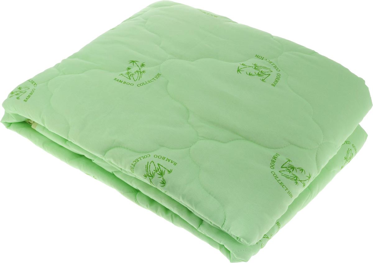 Одеяло ЭГО, наполнитель: бамбуковое волокно, 142 х 205 смЭО-2002-01Одеяло ЭГО подарит уютный и комфортный сон. Чехол одеяла выполнен из полиэстера и оформлен рисунком в виде бамбуковых стеблей. Внутри - наполнитель из бамбукового волокна. Такой наполнитель имеет массу достоинств: антибактериальные свойства, хорошую воздухонепроницаемость, прочность, гигроскопичность, экологичность. Кроме того, изделия с таким наполнителем очень просты в уходе - наполнитель не садится и не сбивается при стирке, обладает высокой прочностью и не впитывает запахи. Одеяло с бамбуковым наполнителем придется по душе людям, ценящим красоту и комфорт. Оригинальная стежка равномерно распределяет наполнитель в чехле. Такое одеяло дарит комфортный сон в любое время года. Одеяло легко стирается в стиральной машине и быстро высыхает. Ваше одеяло прослужит долго, а его изысканный внешний вид будет годами дарить вам уют.