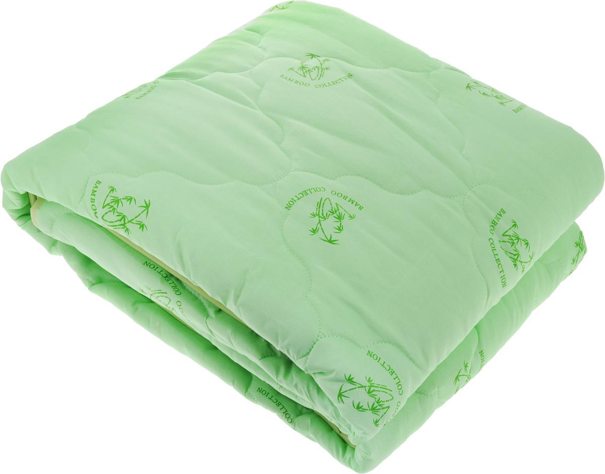 Одеяло ЭГО, наполнитель: бамбуковое волокно, 200 х 220 смЭО-2002-03Одеяло ЭГО подарит уютный и комфортный сон. Чехол одеяла выполнен из полиэстера и оформлен рисунком в виде бамбуковых стеблей. Внутри - наполнитель из бамбукового волокна. Такой наполнитель имеет массу достоинств: антибактериальные свойства, хорошую воздухонепроницаемость, прочность, гигроскопичность, экологичность. Кроме того, изделия с таким наполнителем очень просты в уходе - наполнитель не садится и не сбивается при стирке, обладает высокой прочностью и не впитывает запахи. Одеяло с бамбуковым наполнителем придется по душе людям, ценящим красоту и комфорт. Оригинальная стежка равномерно распределяет наполнитель в чехле. Такое одеяло дарит комфортный сон в любое время года. Одеяло легко стирается в стиральной машине и быстро высыхает. Ваше одеяло прослужит долго, а его изысканный внешний вид будет годами дарить вам уют.
