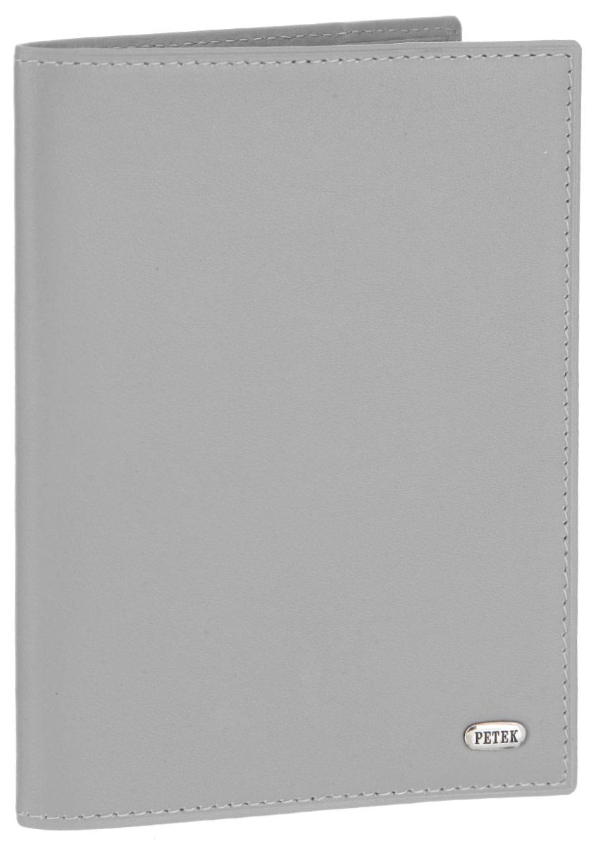 Обложка для паспорта Petek 1855, цвет: светло-серый. 581.167.90581.167.90 PalomaСтильная обложка для паспорта Petek 1855 изготовлена из натуральной кожи и оформлена металлической пластиной с фирменной гравировкой. Изделие поставляется в фирменной коробке. Обложка для паспорта поможет сохранить внешний вид ваших документов и защитить их от повреждений, а также станет стильным аксессуаром.