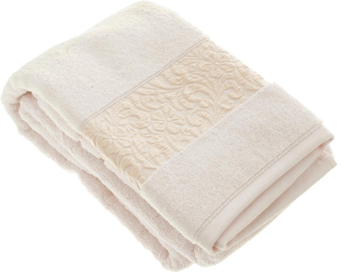 Полотенце бамбуковое Issimo Home Valencia, цвет: пудра, 70 x 140 см4761Полотенце Issimo Home Valencia выполнено из 60% бамбукового волокна и 40% хлопка. Таким полотенцем не нужно вытираться - только коснитесь кожи - и ткань сама все впитает. Такая ткань впитывает в 3 раза лучше, чем хлопок. Несмотря на высокую плотность, полотенце быстро сохнет, остается легкими даже при намокании. Изделие имеет красивый жаккардовый бордюр, оформленный цветочным орнаментом. Благородные, классические тона создадут уют и подчеркнут лучшие качества махровой ткани, а сочные, яркие, летние оттенки создадут ощущение праздника и наполнят дом энергией. Красивая, стильная упаковка этого полотенца делает его уже готовым подарком к любому случаю.