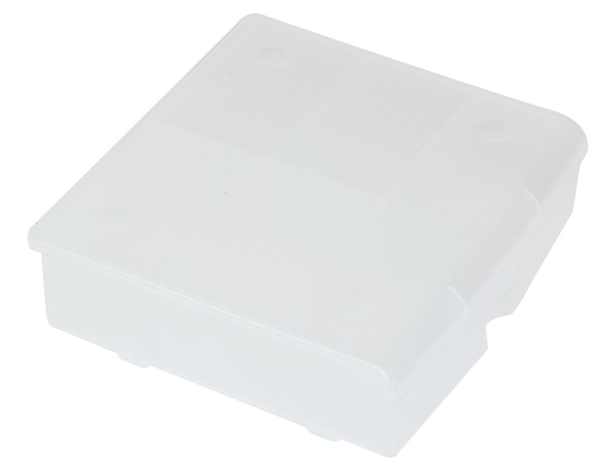Органайзер для мелочей Blocker, цвет: прозрачный, 14 х 13 х 4,1 смПЦ3712ПРМТОрганайзер для мелочей Blocker предназначен для оптимальной организации пространства. Внутреннее деление делает удобным размещение внутри блока деталей, которые необходимо отделить друг от друга, а прозрачная крышка позволяет увидеть содержимое, не открывая блок. Подходит для хранения швейных принадлежностей, мелких деталей и рыболовных снастей. Крышка плотно закрывается и предотвращает потерю содержимого.