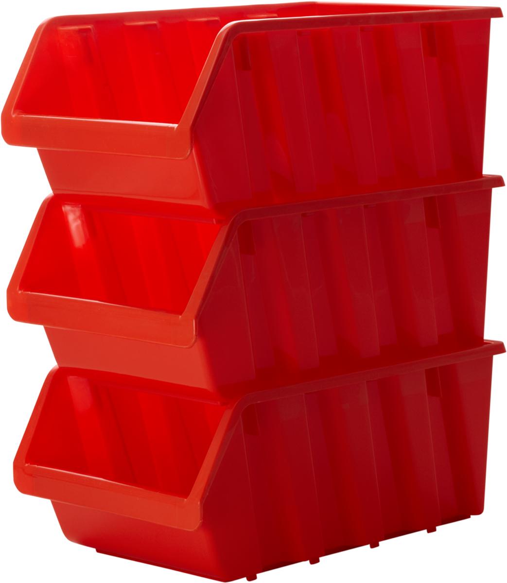 Лоток для метизов Blocker, цвет: оранжевый, 375 х 225 х 160 ммПЦ3742ОРПродуманная конструкция лотков для метизов и других мелочей позволяет организовать пространство хранения по Вашему выбору. Лотки надежно ставятся друг на друга за счет специальной системы крепления. Конструкция предусматривает размещение на планке для крепления малых и средних лотков. Оптимальная конструкция передней части для удобного вынимания метизов.