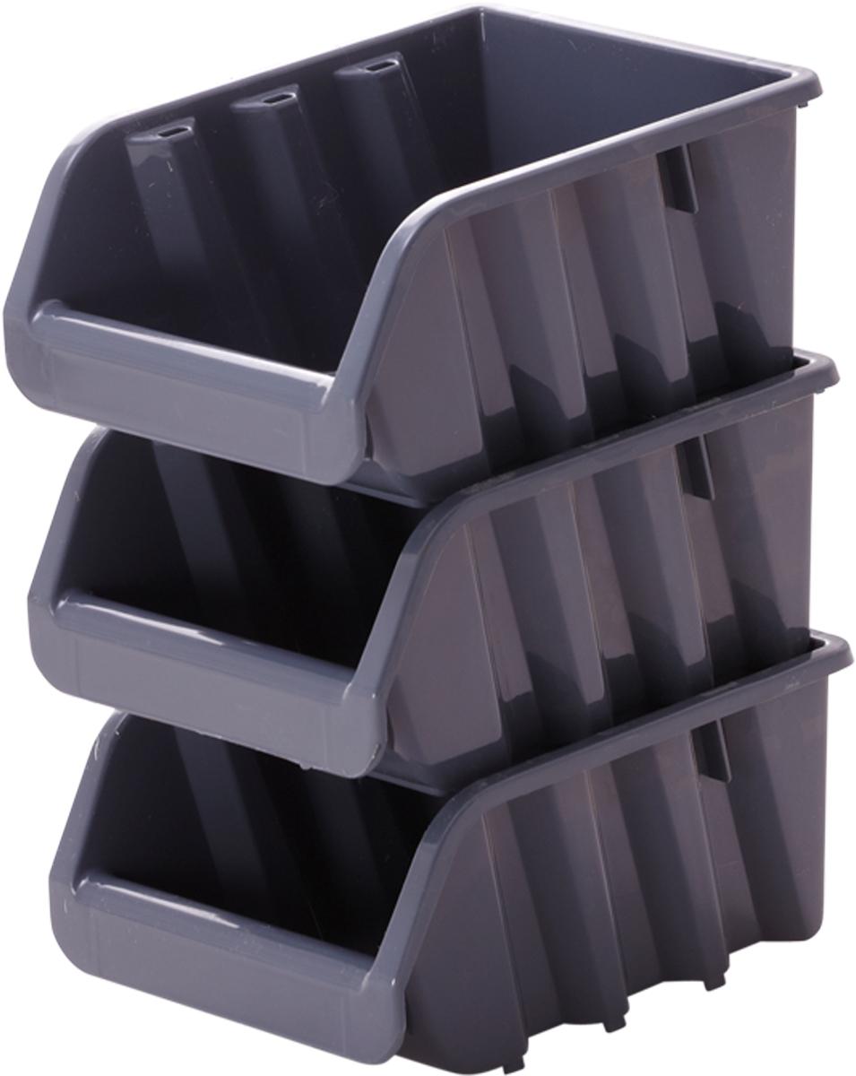 Лоток для метизов Blocker, цвет: серый, 375 х 225 х 160 ммПЦ3742СРСВИНЦПродуманная конструкция лотков для метизов и других мелочей позволяет организовать пространство хранения по Вашему выбору. Лотки надежно ставятся друг на друга за счет специальной системы крепления. Конструкция предусматривает размещение на планке для крепления малых и средних лотков. Оптимальная конструкция передней части для удобного вынимания метизов.