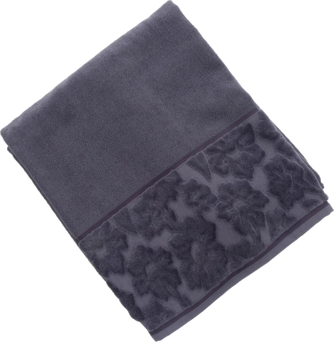 Полотенце махровое Issimo Home Jacquelyn, цвет: индиго, 70 x 140 см4977Махровое полотенце Issimo Home Jacquelyn выполнено из 100% хлопка. Изделие отлично впитывает влагу, быстро сохнет, сохраняет яркость цвета и не теряет форму даже после многократных стирок. Полотенце очень практично и неприхотливо в уходе. Оно прекрасно дополнит интерьер ванной комнаты.