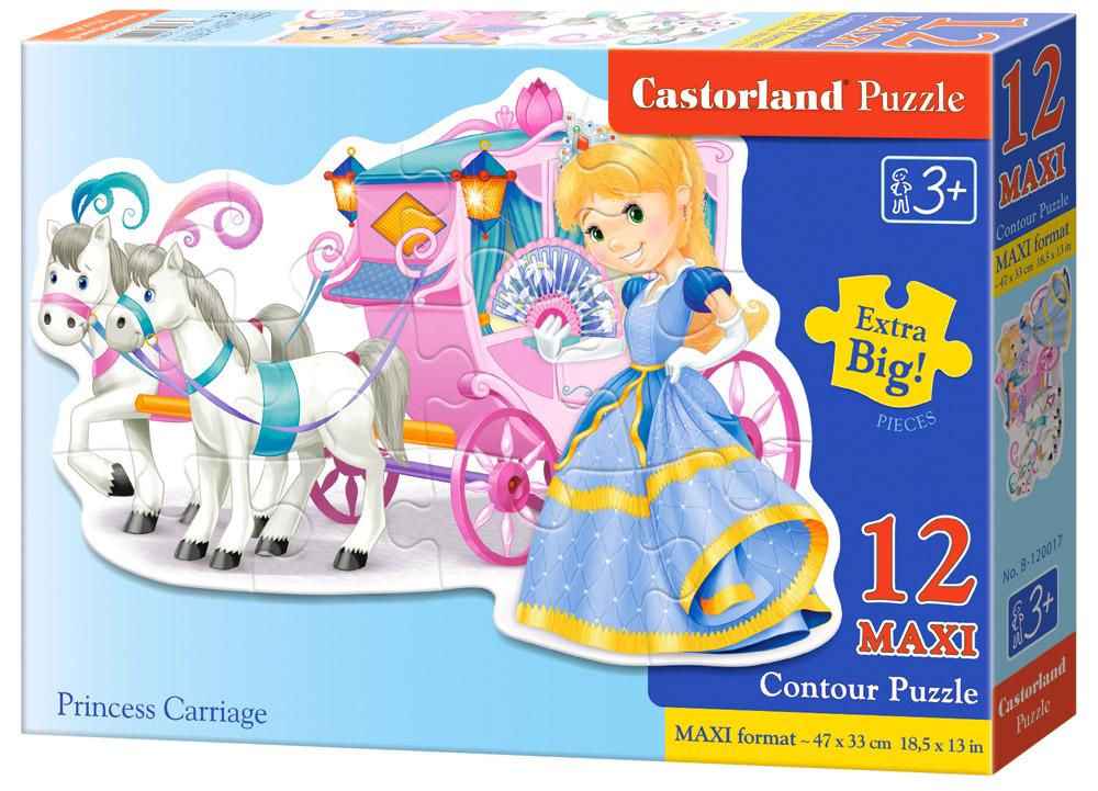 Castorland Пазл ПринцессаВ-120017Пазлы Castorland это - высокий уровень полиграфии, четкие и красочные цвета, продуманные иллюстрации, уникальность формы каждой детали, разнообразие тематик