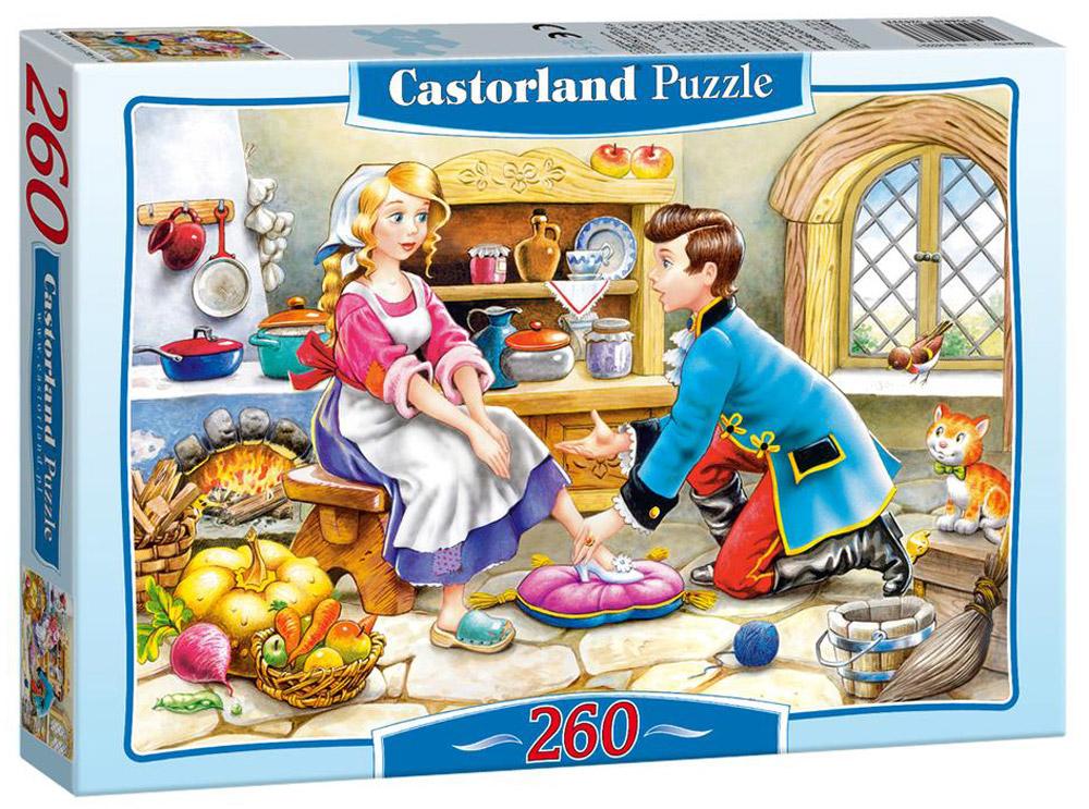 Castorland Пазл ЗолушкаB-26449Пазлы Castorland это - высокий уровень полиграфии, четкие и красочные цвета, продуманные иллюстрации, уникальность формы каждой детали, разнообразие тематик