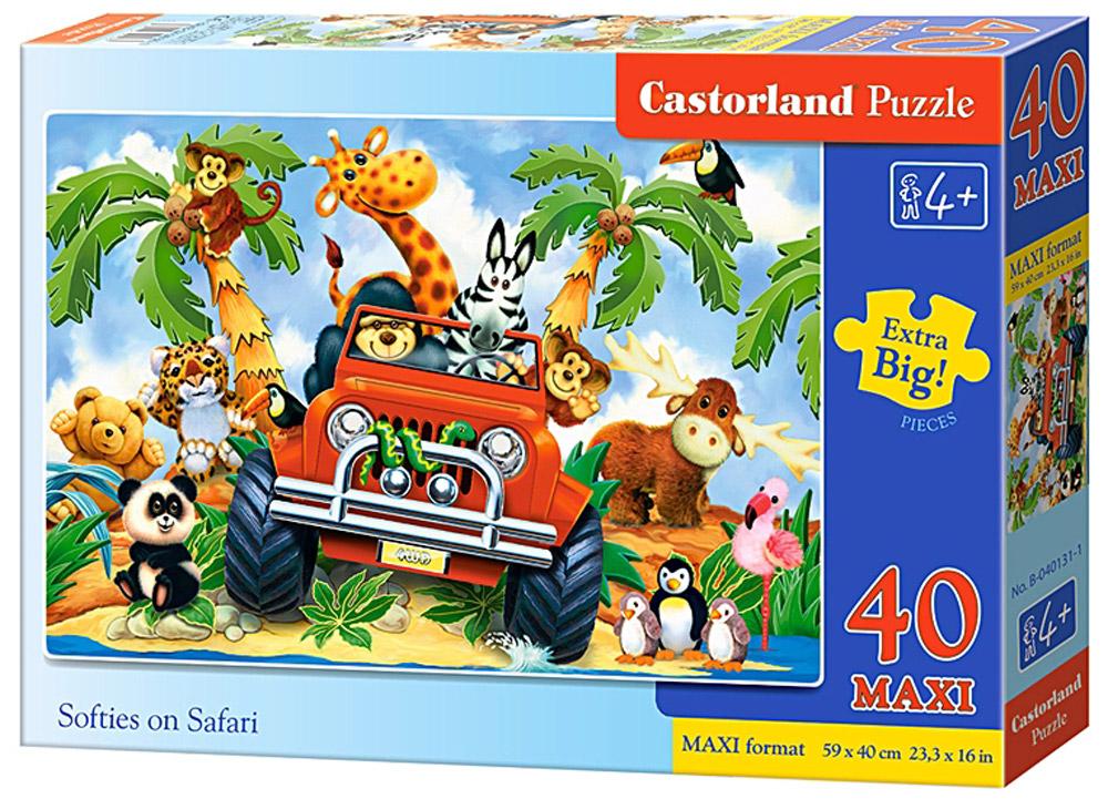 Castorland Пазл СафариВ-040131Пазлы Castorland это - высокий уровень полиграфии, четкие и красочные цвета, продуманные иллюстрации, уникальность формы каждой детали, разнообразие тематик