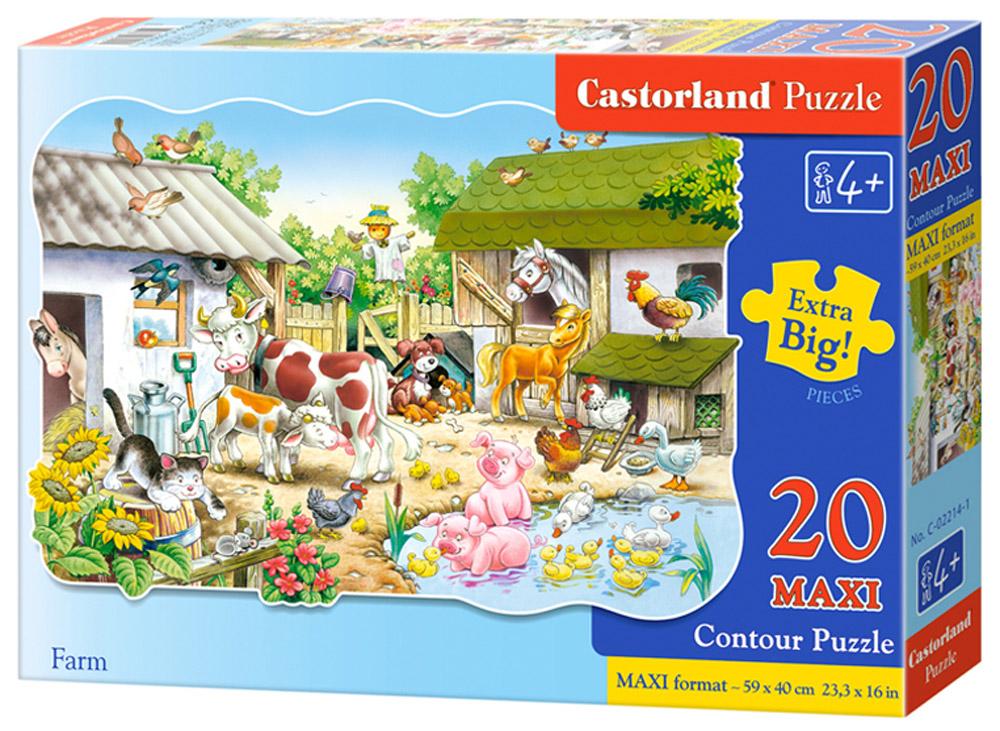 Castorland Пазл ФермаС-02214Пазлы Castorland это - высокий уровень полиграфии, четкие и красочные цвета, продуманные иллюстрации, уникальность формы каждой детали, разнообразие тематик