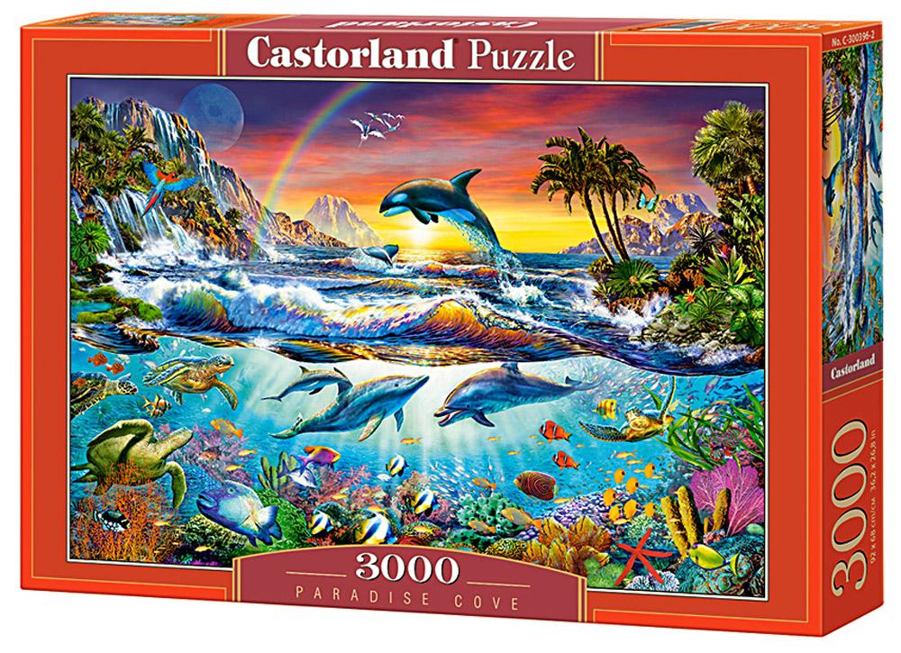 Castorland Пазл Райская бухтаC-300396Пазлы Castorland это - высокий уровень полиграфии, четкие и красочные цвета, продуманные иллюстрации, уникальность формы каждой детали, разнообразие тематик