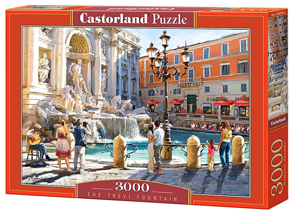 Castorland Пазл ФонтанC-300389Пазлы Castorland это - высокий уровень полиграфии, четкие и красочные цвета, продуманные иллюстрации, уникальность формы каждой детали, разнообразие тематик