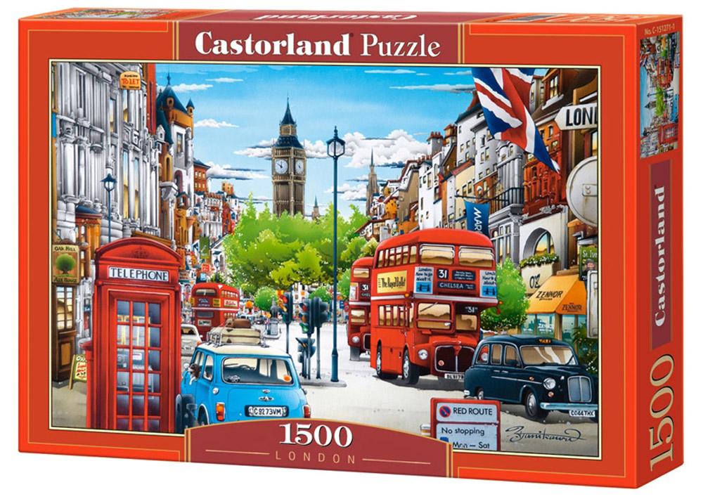 Castorland Пазл ЛондонC-151271Пазлы Castorland это - высокий уровень полиграфии, четкие и красочные цвета, продуманные иллюстрации, уникальность формы каждой детали, разнообразие тематик