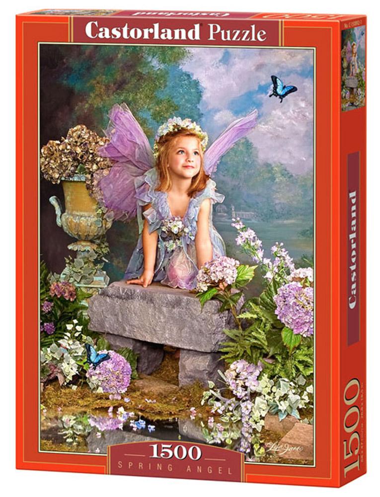 Castorland Пазл Весенний АнгелC-150892Пазлы Castorland это - высокий уровень полиграфии, четкие и красочные цвета, продуманные иллюстрации, уникальность формы каждой детали, разнообразие тематик