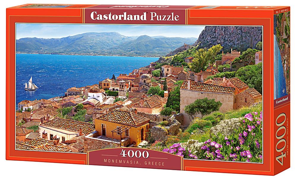 Castorland Пазл ГрецияС-400140Пазлы Castorland это - высокий уровень полиграфии, четкие и красочные цвета, продуманные иллюстрации, уникальность формы каждой детали, разнообразие тематик