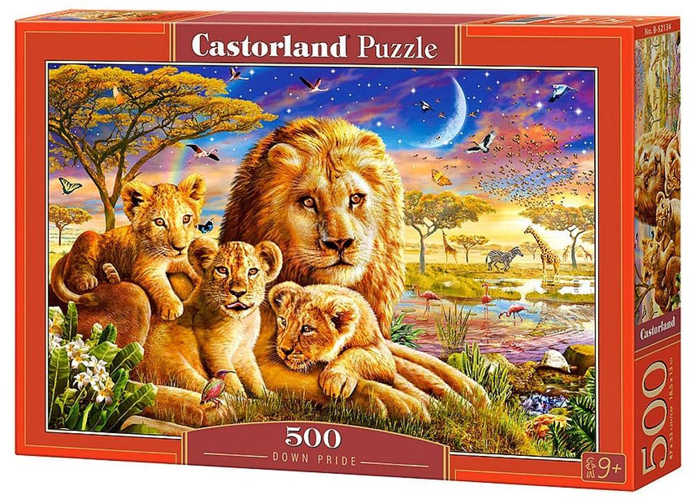 Castorland Пазл Семья львов