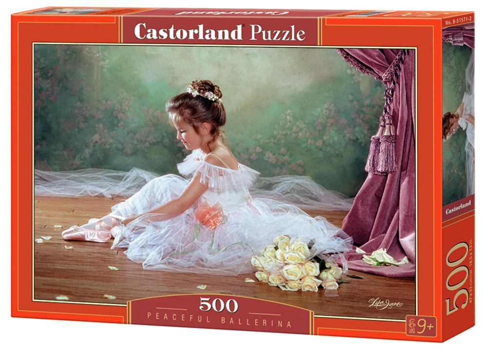 Castorland Пазл БалеринаB-51571Пазлы Castorland это - высокий уровень полиграфии, четкие и красочные цвета, продуманные иллюстрации, уникальность формы каждой детали, разнообразие тематик