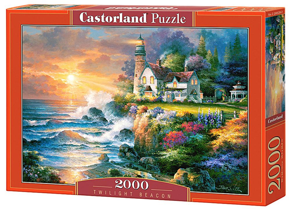 Castorland Пазл Маяк в сумеркахC-200528Пазлы Castorland это - высокий уровень полиграфии, четкие и красочные цвета, продуманные иллюстрации, уникальность формы каждой детали, разнообразие тематик